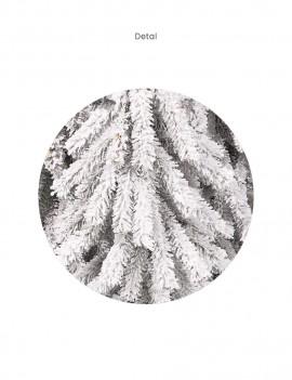 Choinka Świerk Aplejski 120cm śnieżony