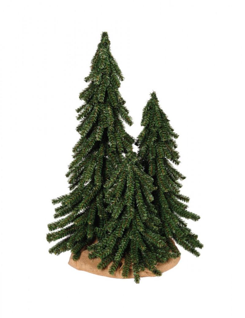 Drzewka Alpejskie w jucie 70-55-40 cm/ Alpine