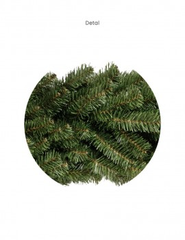 Wianek Czesany na ringu/ Wreath combed 80cm