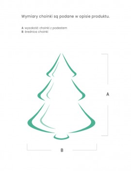 Choinka / Tree Naturalna 120 cm