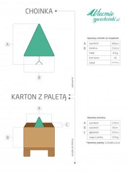 Premium mix Tree 400 cm/ Choinka Premium 400 cm