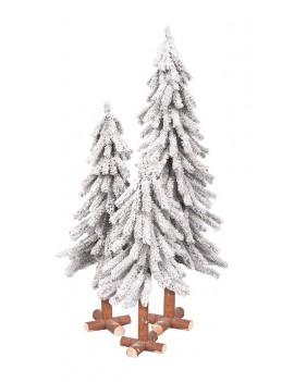 Alpejski 180 cm ośnieżony/flock tree 180 cm