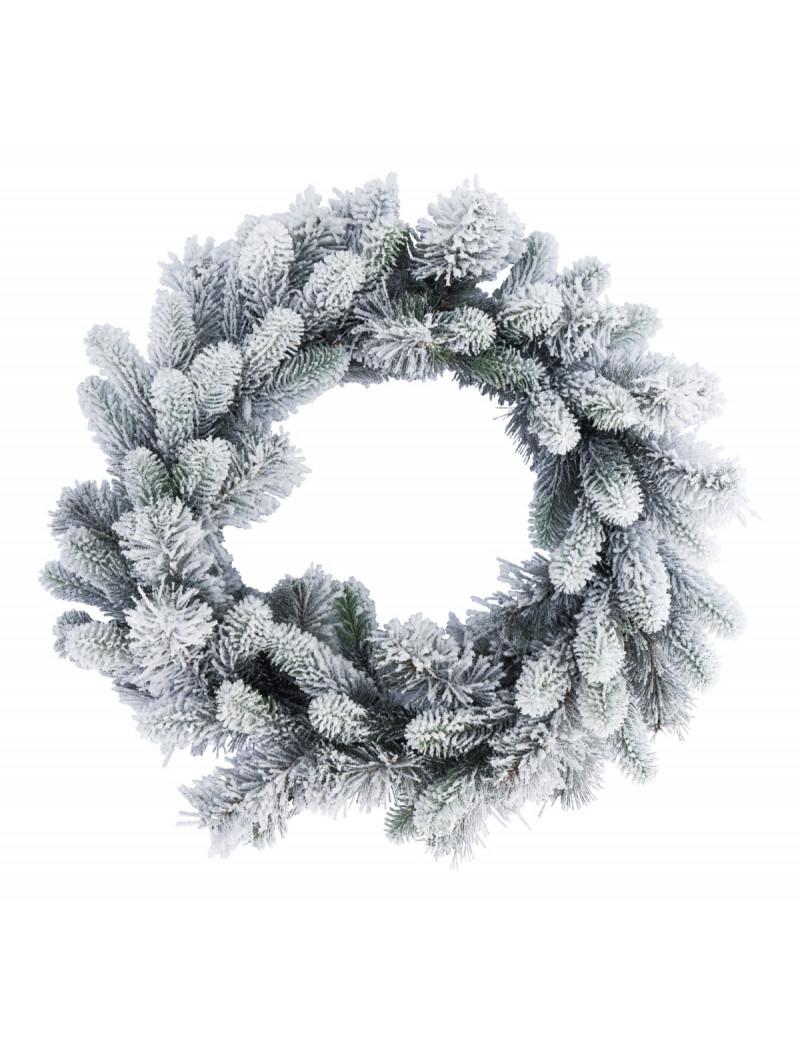 Wianek/ Wreath Rocky Flocked 50cm