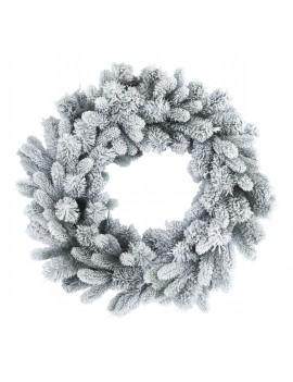Wianek/ Wreath Rocky Flocked 80cm