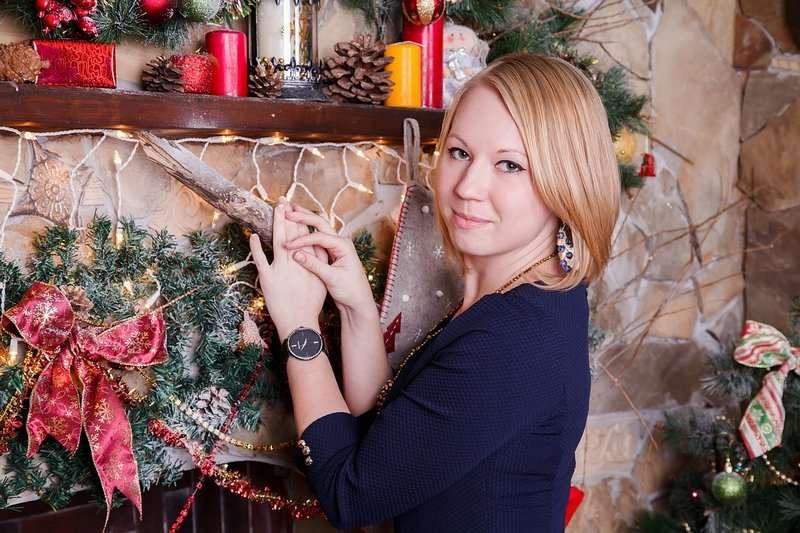 Girlanda świąteczna na kominek